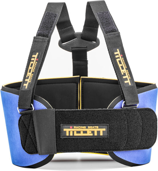 Go Kart Tillett P1 Rib Protection System Small Blue Karting Race Racing