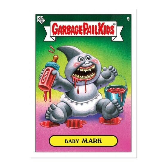 """2019 Topps Garbage Pail Kids """"2019 Was The Worst"""" #9 ~ Baby MARK"""