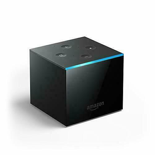 Amazon Fire TV Cube  (2nd Gen) 4K Ultra HD Streaming Media Player with Alexa