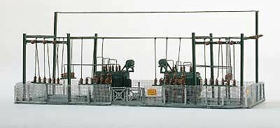 PIKO N SCALE TRANSFORMER STATION BUILDING KIT  BN  60016