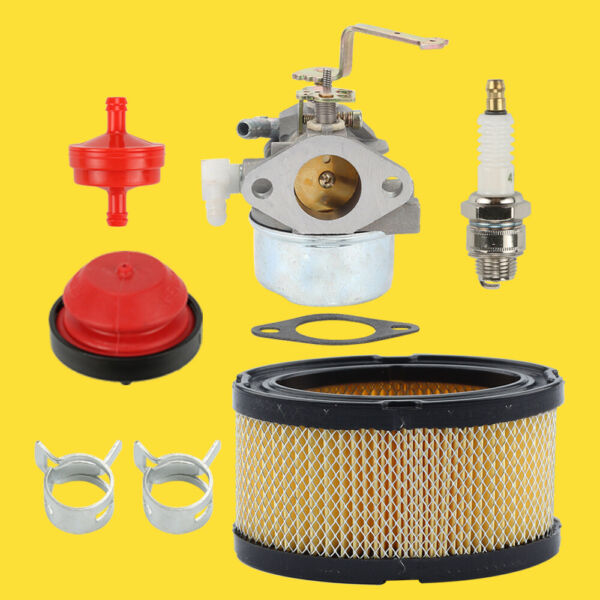 640152 Carburetor for Tecumseh 640023 HM640152A 80 HM90 HM100 Air Fuel Filter