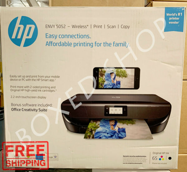 HP ENVY 5052 All-in-One Wireless Color Inkjet Printer - (M2U85A)
