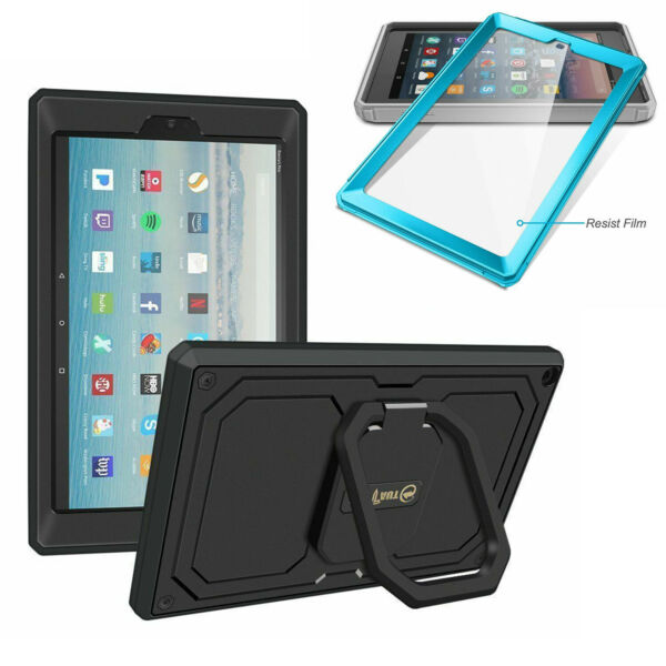 360 Rotating Grip Case For 10.1quot; Amazon Fire HD 10 9th Gen 2019 7th Gen 2017