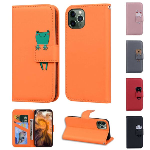 Case For iPhone 11 Pro Max 5.8quot; 6.1quot; Flip Wallet Leather Cover Magntic Luxury $10.49