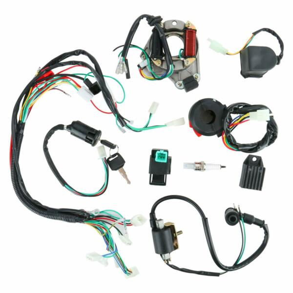 Complete Electrics Stator Coil Wiring Harness Kit 4 Stroke ATV KLX (5Pin AC)