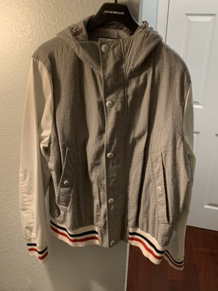 $2495 MONCLER Made in ITALY Multi Color Light Jacket Limited Edition Sz.5-XL FS