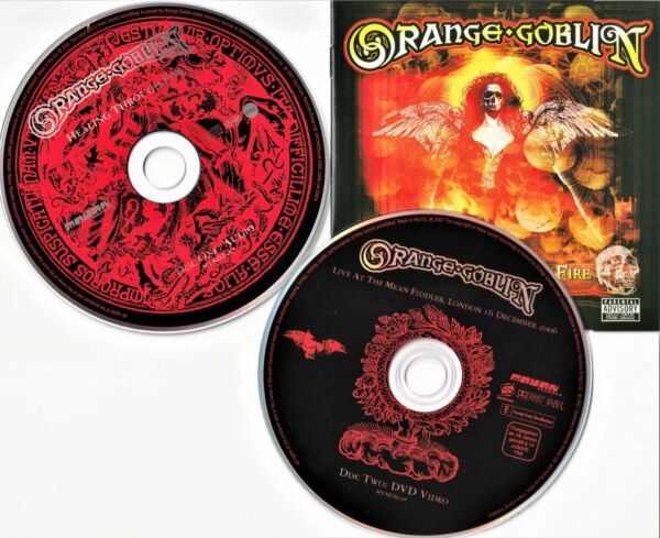 Orange Goblin - Healing Through Fire (CD & DVD) (2007)