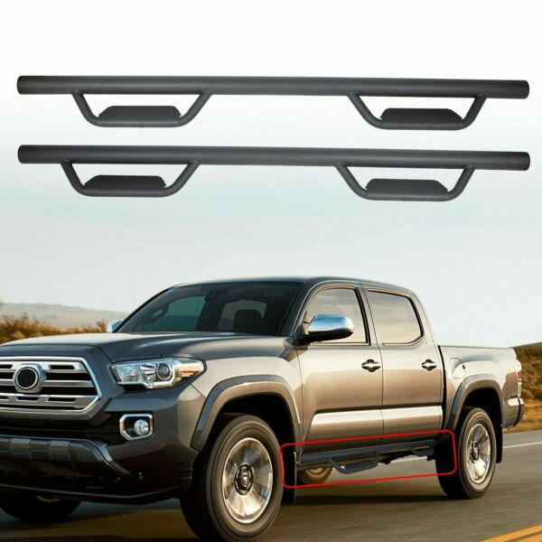 For 05 21 Toyota Tacoma Double Crew Cab 3quot; Running Board Nerf Bar Hoop Side Step