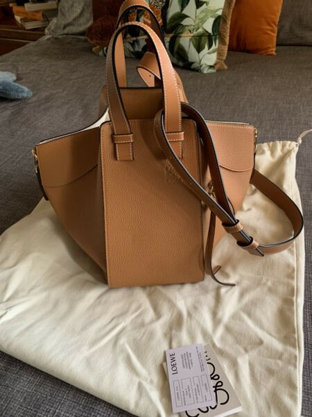 Loewe Hammock Bag Small  Light Caramel  Calfskin  RRP$3400
