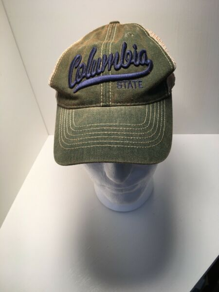 Trucker Hat Baseball Cap Strap Back  Raised Letters .it Has A Great Patina