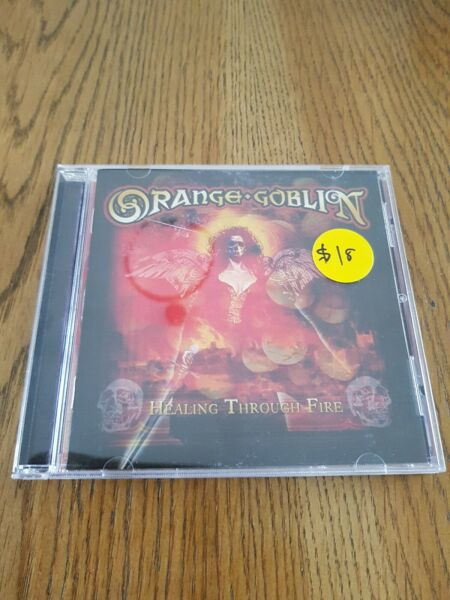 Orange Goblin healing through fire CD