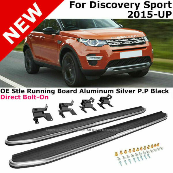 For 15-19 LR Discovery Sport Factory Style Running Boards Bars Side Steps