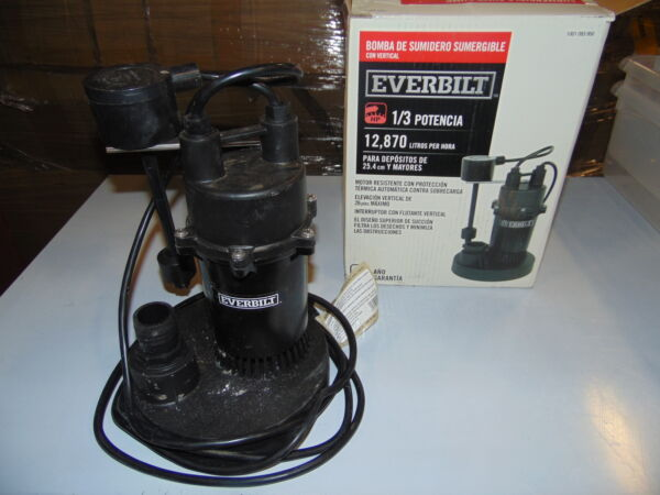 13 HP Submersible Sump Pump with Vertical