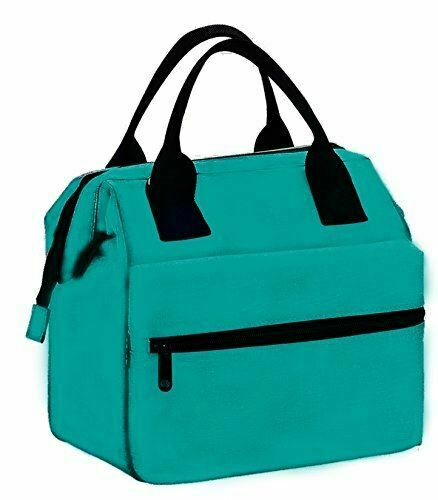 Earthwise Insulated Lunch Bag Box for Men & Women Heavy Duty Oxford Nylon for Ad