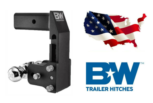 Bamp;W Hitches GM MultiPro Tailgate Tow amp; Stow 2.5quot; Receiver Dual Ball TS20066BMP
