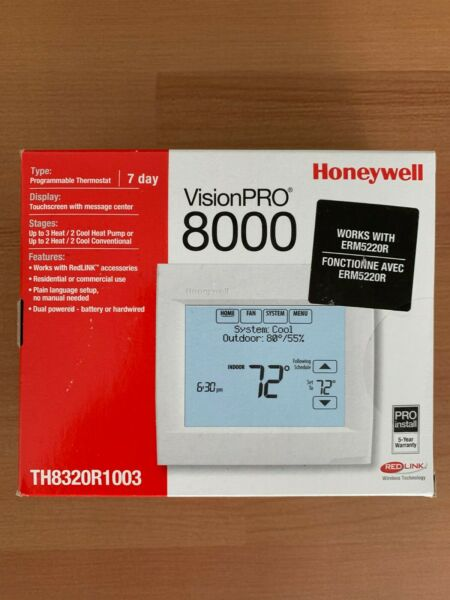 Honeywell VisionPRO 8000 Progammable Touchscreen Thermostat TH8320R1003