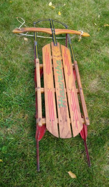 Steel Runner Snow Sled 45
