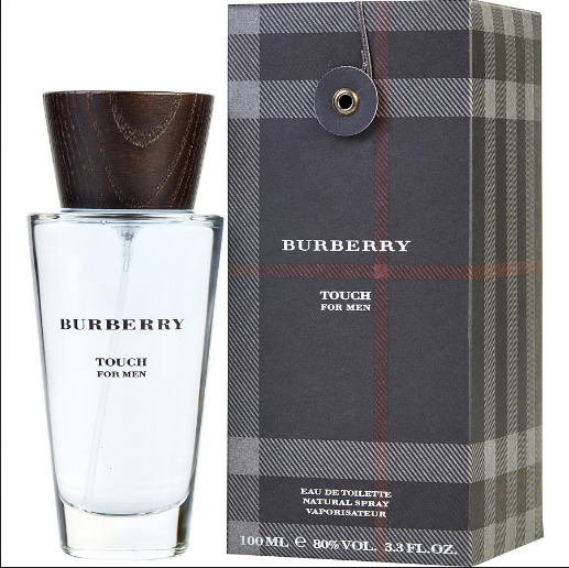 BURBERRY TOUCH By Burberry cologne for men EDT 3.3 oz New in Box $32.00