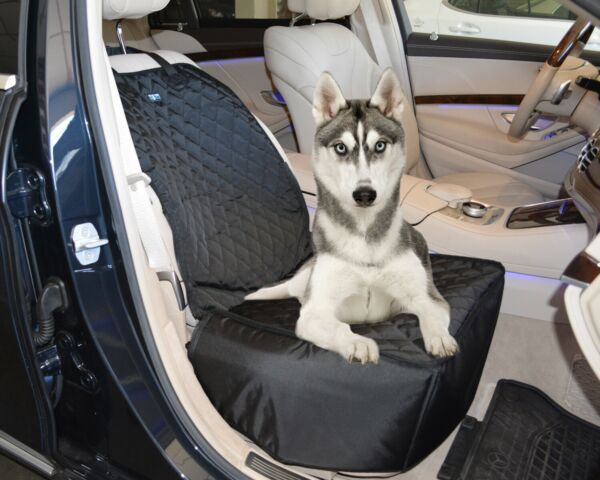 Front Seat Pet Dog Cover Car Seat Cover Waterproof Nonslip Rubber Protector Mat $23.99