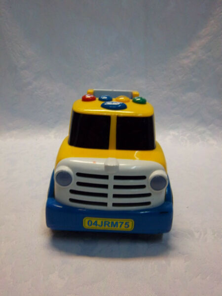 Fun Years Preschool Sound Light Learning 12quot; Truck Toy Carrier $23.74