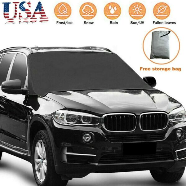 Car Windshield Snow Cover Sun Shade Rain Winter Ice Dust Frost Guard Protector