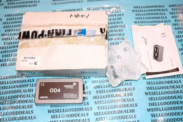Solartron Metrology OD4 Conditioning Module New $325.95