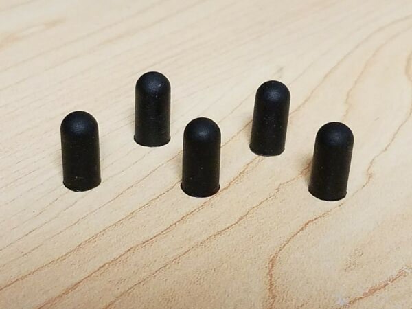(5) Top-o-Matic Mikromatic T2 & Gambler Replacement Rubber Tips FREE SHIPPING