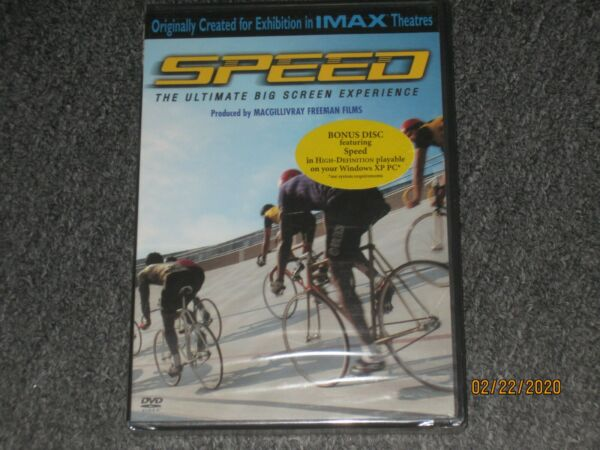 Speed (IMAX) (DVD 2004) The Ultimate Bicycle Big Screen Experience - Brand New