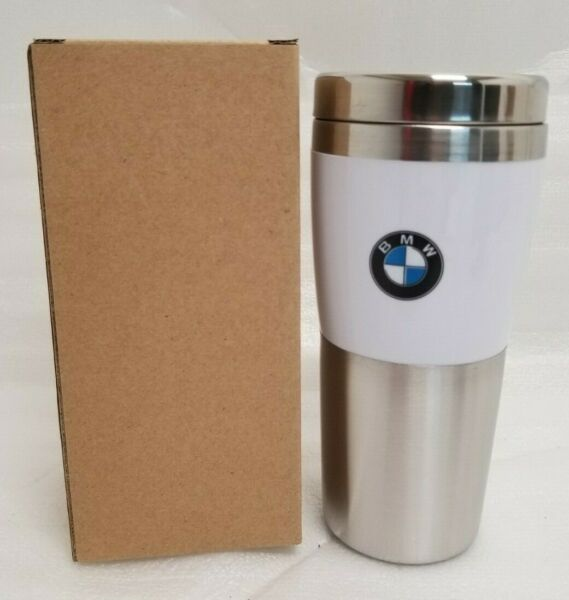 NEW Genuine BMW Insulated Fusion Tumbler Stainless 14oz 80900435781
