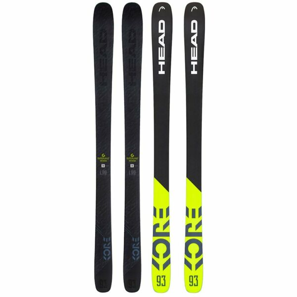 NEW 2019 HEAD KORE 93 SNOW SKIS  SIZE:180 cm