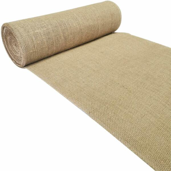 Extra Long Burlap Table Runner Roll 12quot; Wide x11 Yards Jute Rustic Wedding Decor