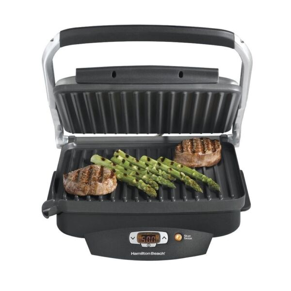 1500w Countertop Non Stick Dishwasher Safe Searing Steak Lovers Grill Griddle