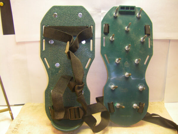 ICE SHOES THESE STRAP ON TO YUR BOOTS W ADJUSTABLE STRAP PLEASE REFER TO PICS $14.00