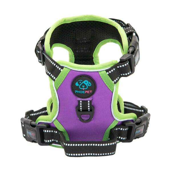 PHOEPET 2019 No Pull Dog Harnesses for Small Dogs Reflective Adjustable Front 2 $34.00