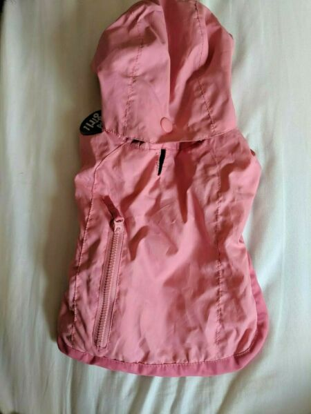 Old Navy Dog Supply Co Pink Raincoat XS $10.00