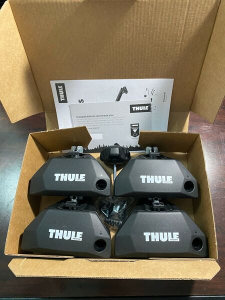 Thule Evo Flush Rail Foot Pack 710601 Thule Lock amp; Key Set Free Shipping $199.95