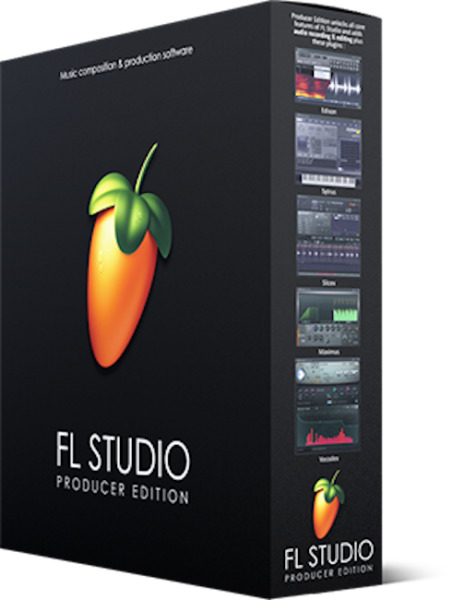 Image Line FL Studio 20 Producer Edition Software DAW Boxed Software