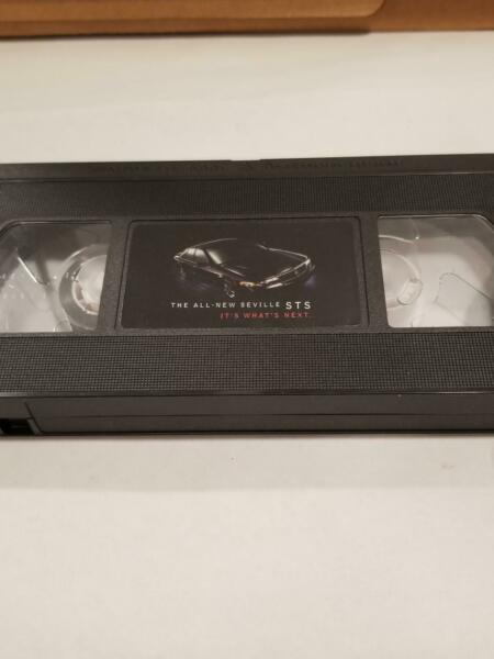 Cadillac Seville VCR Promo Tape