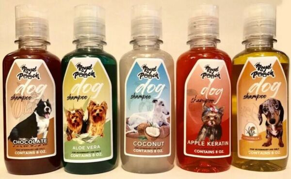 Variety of ROYAL POOCH LUXURY DOG SHAMPOO 8OZ Please Specify Your Preference $14.95