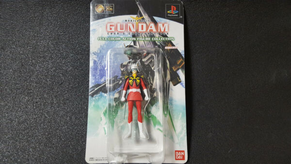 BANDAI GUNDAM CHAR 1 20 FULL COLOR ACTION FIGURE COLLECTION Play Station