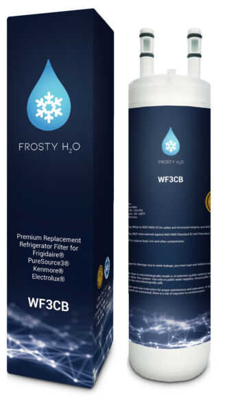 FrostyH2O Fits Pure source WF3CB Replacement Refrigerator Water Filter (1pack)