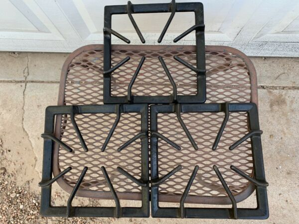 Cast Iron Stove Grates 3160845 3 Total Good Used Condition