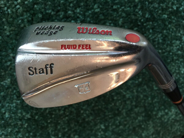 Wilson Staff Fluid Feel Pitching Wedge Dynamic Gold Frequency Matched Steel Shft