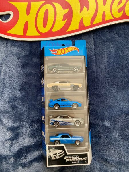 Fast & Furious 5-Pack 2020 Hot Wheels Skyline Monte Carlo Porsche Camaro Mustang