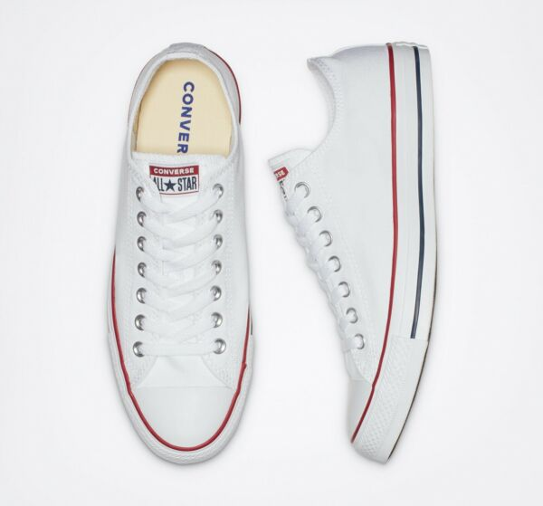 Converse Chuck Taylor All Star OX Low Top Optic White NEW IN BOX