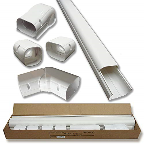 4quot; 14 Ft Line Set Cover Kit for Mini Split Air Conditioners and Heat Pumps Cover $104.50