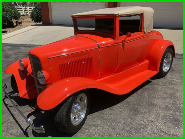1930 Ford Model A Convertible 3