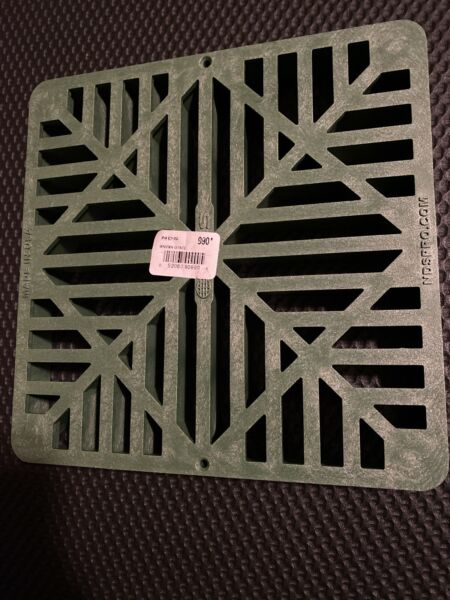 NDS 9 Inch Square Grate Green NEW