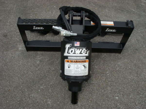 Lowe BP-210 Hex Auger Drive Post Hole Digger Fits Bobcat Skid Steer Attachment