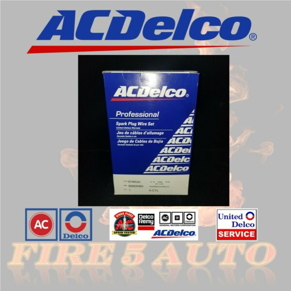 Spark Plug Wire Set ACDelco Pro 9746UU  GENUINE